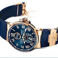 Часы в стиле Ulysse Nardin Marine / мужские часы / наручные часы / кварцевые часы реплика