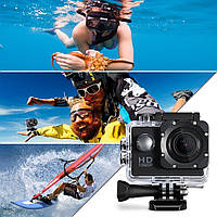 Экшн камера Sports Cam FullHD 1080p A7-HD Action camera водонепроницаемый бокс / Оригинал!