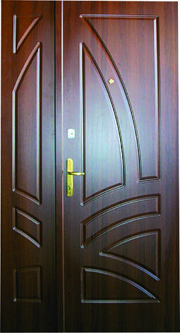 Двери уличные, модель 42 PRESTIGE 1170*2050, VINORIT, замки 2 шт KALE, сердцевины KALE, фото 2