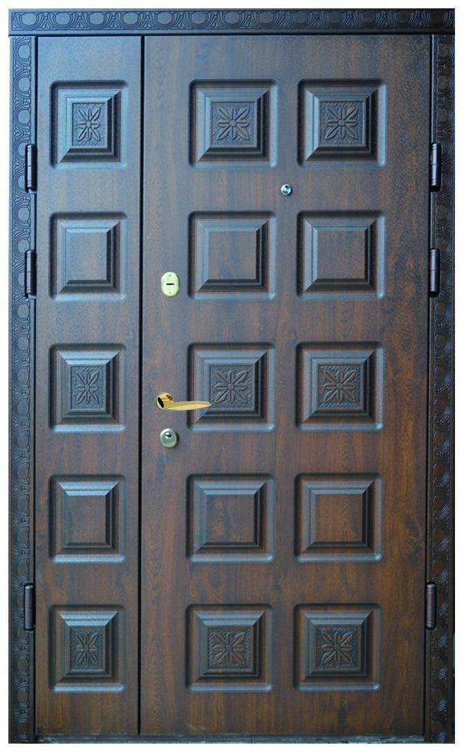Двери уличные, модель 44. PRESTIGE 1170*2050, VINORIT, замки 2 шт KALE, 3D фрезеровка, патина