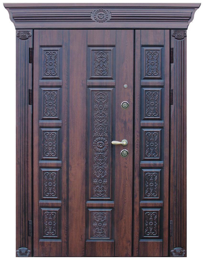 Двери уличные, модель 46 Премиум 1170*2050, коробка 110. металл 2 мм, VINORIT, замок MOTTURA