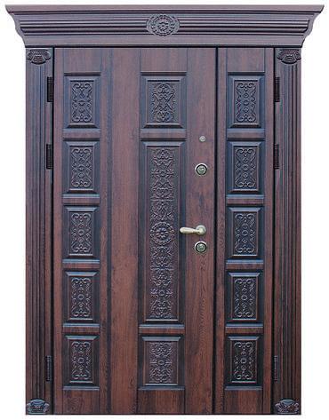 Двери уличные, модель 46 Премиум 1170*2050, коробка 110. металл 2 мм, VINORIT, замок MOTTURA, фото 2