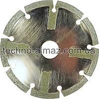 Алмазный отрезной круг 1A1R 125 2,2 5 22.2 (сегментный)
