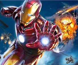 Светодиодная маска Железного Человека из Мстителей, Маска Железного Человека с подсветкой!, фото 3