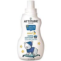 ATTITUDE, Little Ones, смягчитель для белья, ночной, смягчающая ромашка, 33.8 жидких унций (1 л)