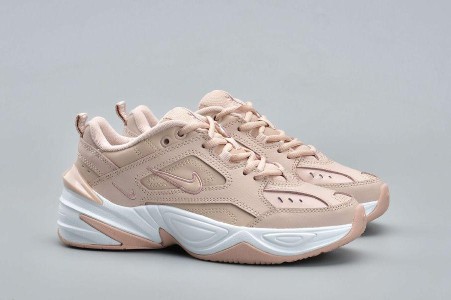 356960e8 Кроссовки женские Nike Air Monarch M2K Tekno Particle Beige White Бежевые