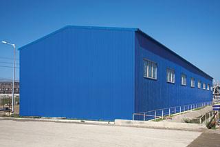Строительство складских помещений, ангаров, цехов ю