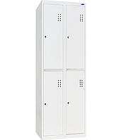 Шкаф для раздевалок ШО-300/2-4 (эконом)