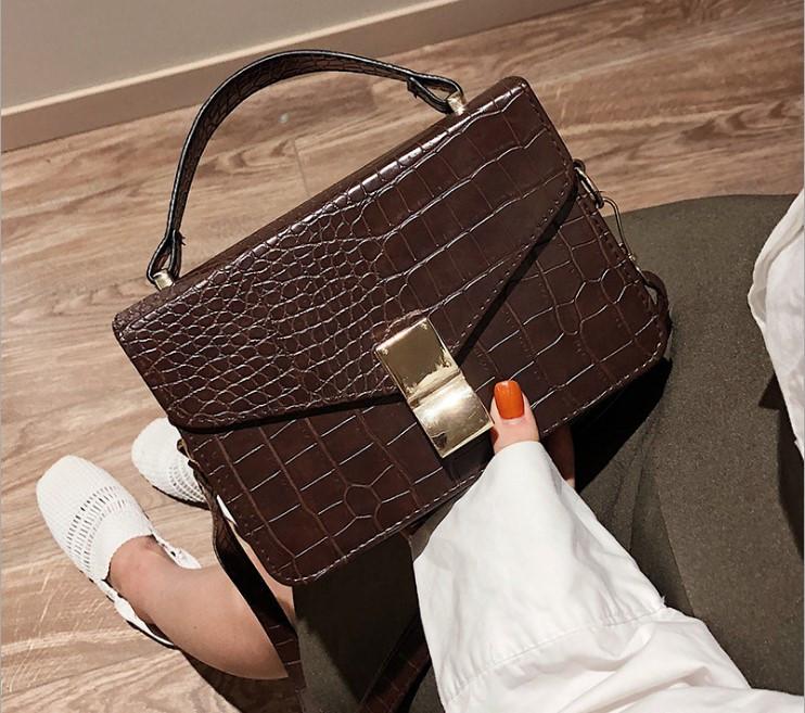 f7628756ddb3 Модная женская сумка через плечо под рептилию - Strelecia - интернет-магазин  женских сумок,