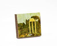 Шкатулка-книга на магните  slim с 4 отделениями Античный Рим