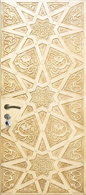 Двері вуличні, модель 60 Преміум 970*2050, метал 2мм, коробка 110мм, VINORIT, накладки 16мм, MOTTURA, патина