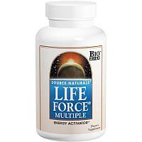 Source Naturals, Мультивитамин Life Force, 180 таблеток