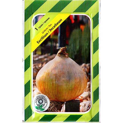 """Семена лука репчатого """"Эксибишн"""" (1 г) от от Bejo, Голландия, фото 2"""
