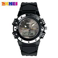 Skmei 0821 easy II черные женские спортивные часы