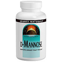 Source Naturals, D-манноза, 500 мг, 60 капсул