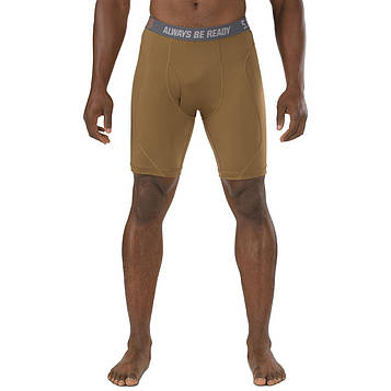"Трусы ""5.11 PERFORMANCE 9"" BRIEF"" - Battle Brown"