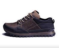 Мужские весенние кожаные кроссовки New Balance