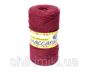 Эко Шнур Cotton Macrame, цвет Красно-фиолетовый