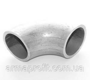 Отвод 90° нержавеющий крутоизогнутый бесшовный 18x2 ст.12Х18Н10Т