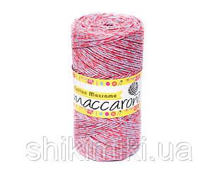 Эко Шнур Cotton Macrame, цвет Розово-Серый