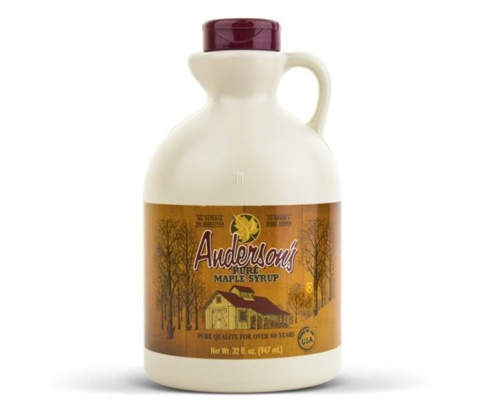 Кленовый сироп Anderson's Grade A Pure Maple Syrup, 946 мл. США