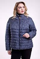 Элегантная весенняя женская куртка батал , разные цвета, фото 1