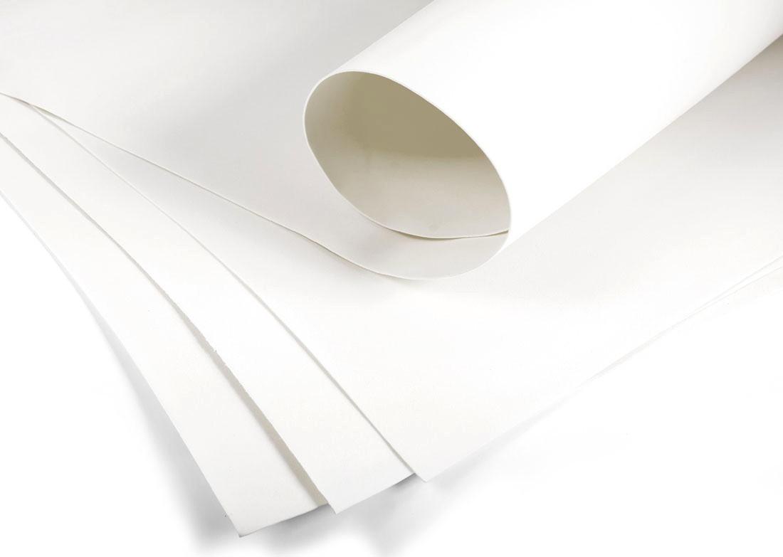 Фоамиран Белый 60 х 70 см., 740498