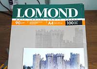 Бумага фото LOMOND A4 90 гр. матовая 100 листов