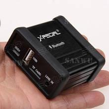 Автомобильный Bluetooth приемник / ресивер AUX, TF, 3,5 мм / аудио адаптер