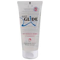 Смазка с ароматом клубники Just Glide Strawberry 200 ml