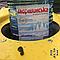 Контейнер пластиковый для мусора с плоской крышкой 1100 л желтый, фото 4