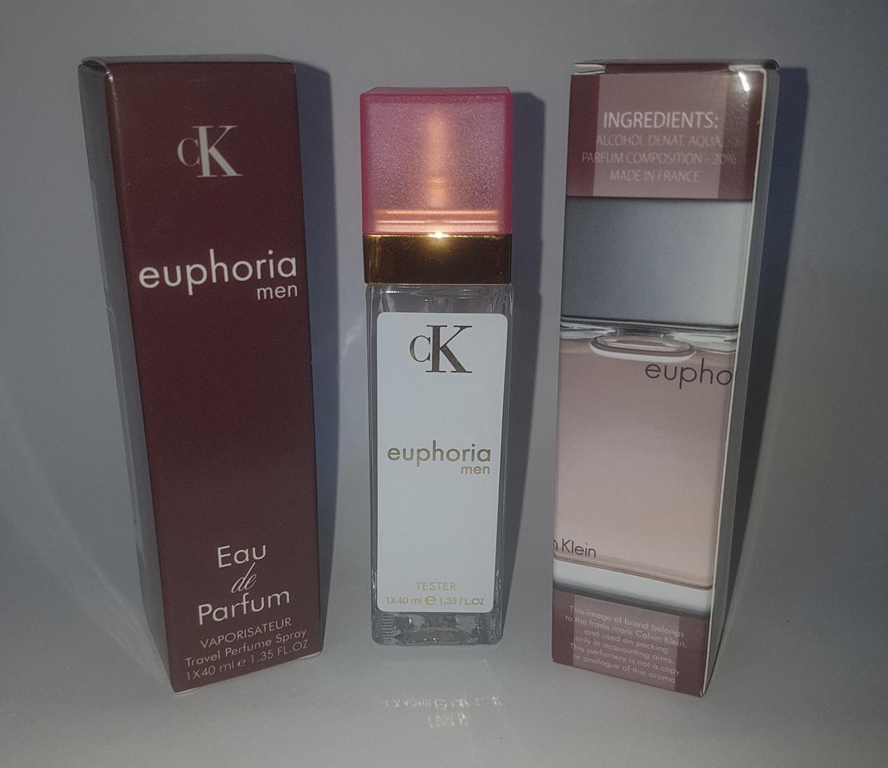 мини парфюм Calvin Klein Euphoria Pour Homme 40 Ml Av цена 15180