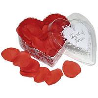 Лепестки роз в подарочной упаковке Heart of Roses