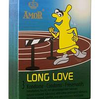 Презервативы с анестетиком Amor Long Love 3 шт