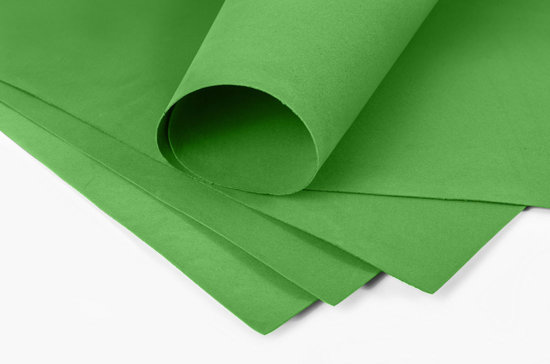 Фоамиран Зелёный 60 х 70 см., 740528