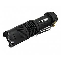 Тактичний ліхтар POLICE BL 8468 Q5 50000W ліхтарик 300 Люмен