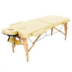 Массажный стол Двухсекционный деревянный переносной стол ASPECT (NEW TEC)
