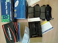Колодки ручного (стояночного) тормоза на KIA, Hyunday, Toyota, Nissan, Mazda, Mitsubishi, Honda, BMW, Mercedes