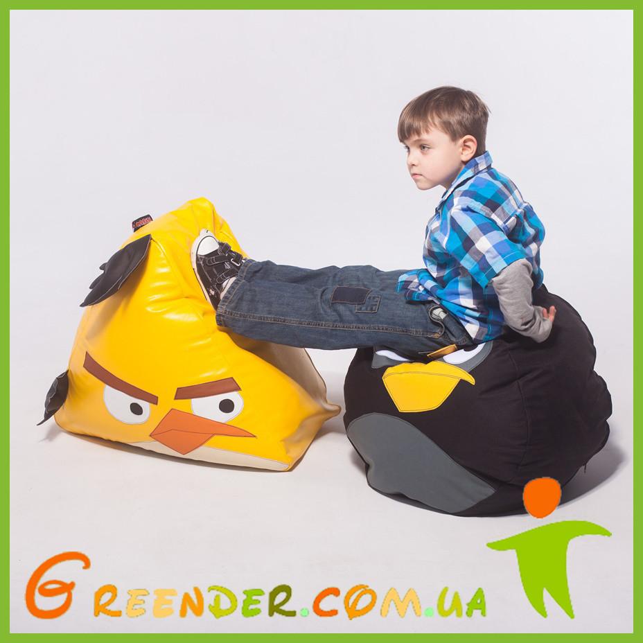 Кресло-мешок Птаха Желтая Poparada
