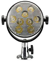Прожектор палубный водонепроницаемый на 9 светодиодов