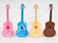 Гитара, 6 струны, 4 цвета, в кульке