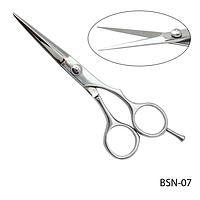 """Ножницы парикмахерские BSN-07 - для стрижки, полуэргономичной формы, размер: 5,2""""#A/V 17388"""