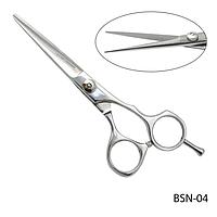 """Ножницы парикмахерские BSN-04 - для стрижки, полуэргономичной формы, размер: 5,2""""#A/V"""