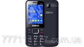 Мобильный телефон с камерой и батареей большой емкости на 2 сим карты Maxcom MM141 Gray