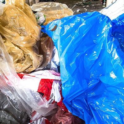 Отходы цветной пленки