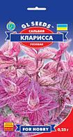Сальвия Кларисса розовая очаровательная кустистая эффектна в групповых посадка, упаковка 0,25 г