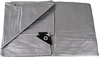 Тент тарпауліновий універсальний 10х12 м сірий (150 г/кв.м.) (2)