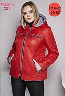 Стильна жіноча куртка, фото 1