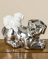 Статуэтка собачка Фелиция цветная керамика h11см Гранд Презент 1004812