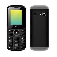 """Телефон Nomi i184 Black-Grey черно-серый (1SIM) 1,8"""" 32/32 МБ+SD оригинал Гарантия!"""